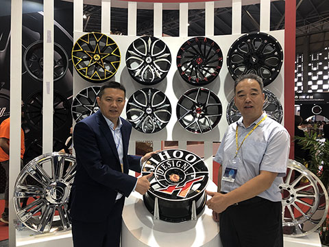 The JIHOO design series was praised by the Secretary General of China Aluminum Wheel CAW Association