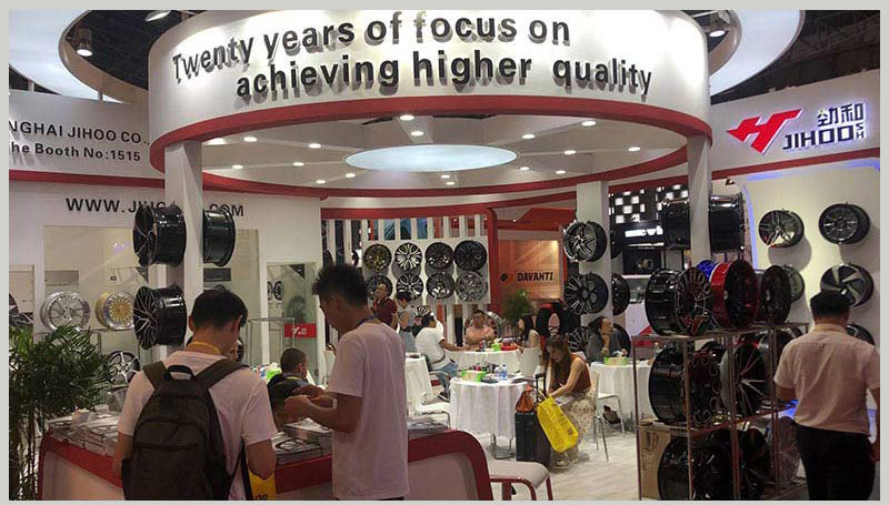 the hall of Jihoo about the 17th China International TIRE EXPO 2019